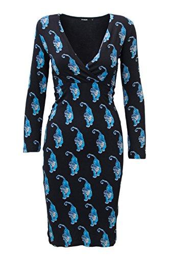 Nero 18wwvkac Donna Vest Vestito Desigual Corto Tigris xwXzYa7q