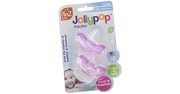 Amazon.com: jollypop Preemie prematuro bebé Chupetes Tamaño ...
