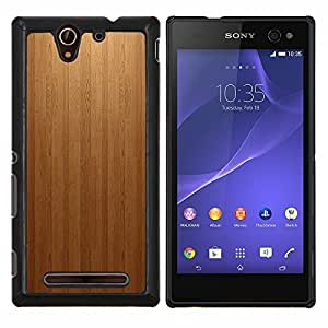 - Wood panel Texture Patern For Sony Xperia C3 D2533 Hard Snap On Cell Phone Case Cover @ Cat Family