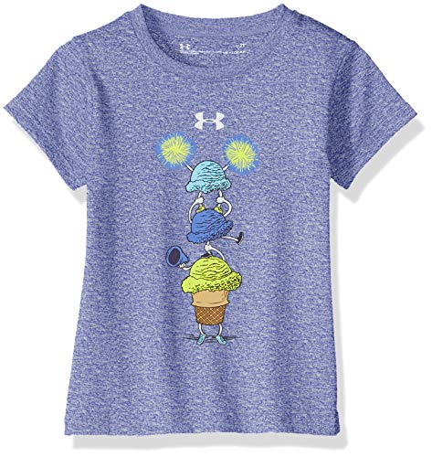Under Armour Girls' Toddler Basic Short Sleeve