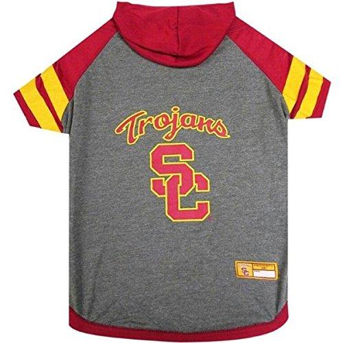 Buy pets first usc trojans pet hoodie t-shirt small