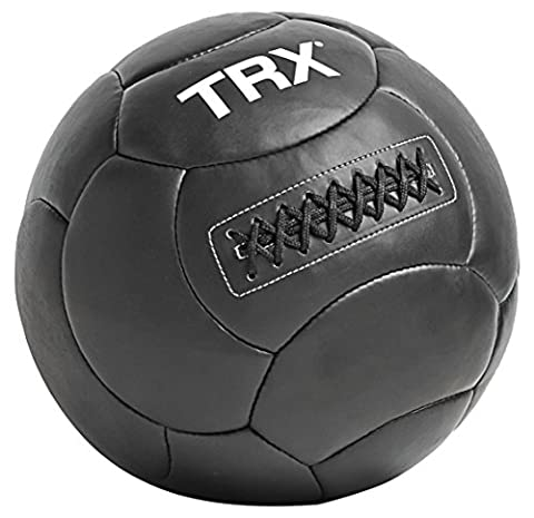 TRX Training - TRX Handcrafted Wall Ball with Reinforced Seam Construction, 20 Pounds (9.1 kg) (In Door Bike Stand)
