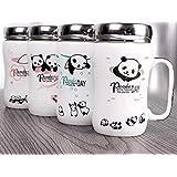 Satyam Kraft Ceramic(1 Piece)Panda Printed Mug