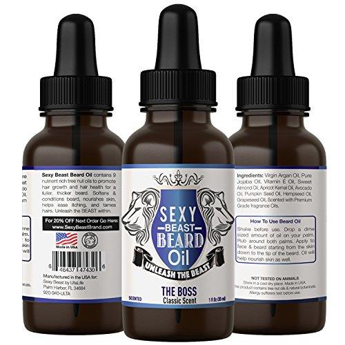 BEST Beard Oil Men Proprietary product image