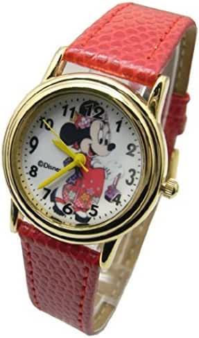 Disney Minnie Mouse In Japan. Watch For Girls .Large Analog Dial. 9