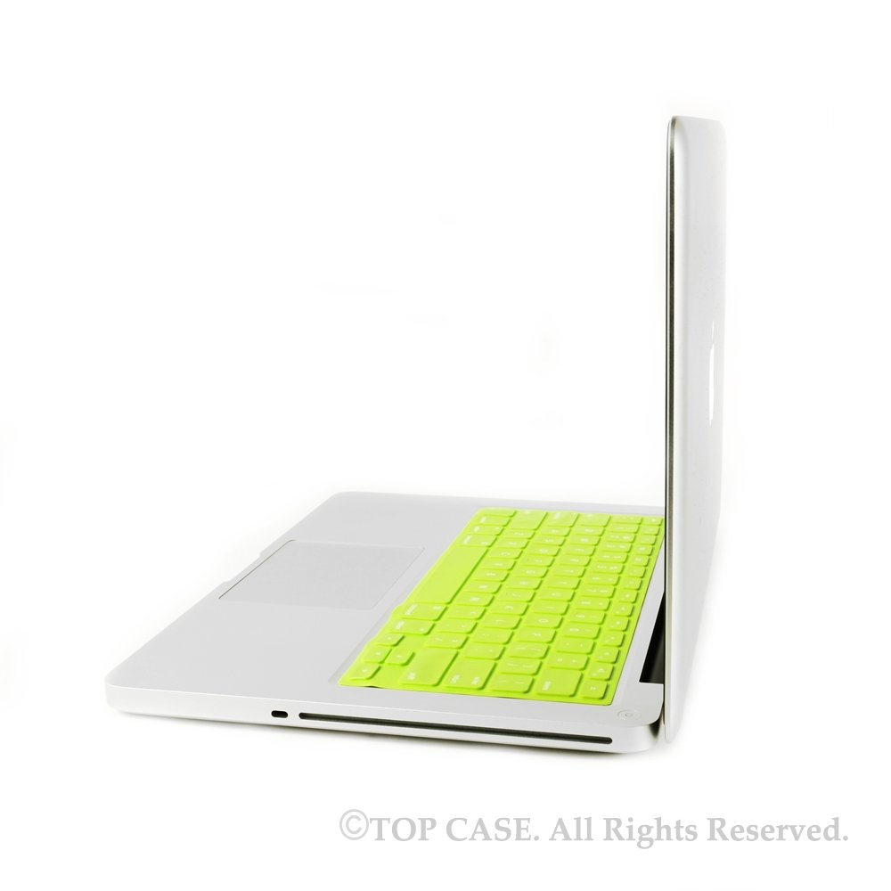 """Shimmering GREEN Keyboard Cover Skin for Apple Macbook Pro 13/"""" A1278"""