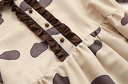 Printemps Été Printemps Doll Doll Pretty Dress Agaric Drapé Imprimé Filles Jupes Style japonais