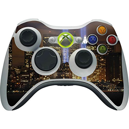 - Scenic Cities Xbox 360 Wireless Controller Skin - New York City Tribute in Light Memorial, Ground Zero Vinyl Decal Skin For Your Xbox 360 Wireless Controller