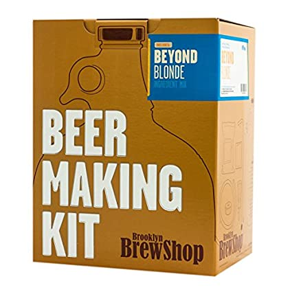 051c5a1c Brooklyn Brew Shop Beyond Blonde Beer Making Kit: Amazon.co.uk: Kitchen &  Home