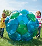 inside football - Blue and Green GBOP Great Big Outdoor Play Inflatable Climb Inside Bubble Soccer Zorb Ball Heavy Duty PVC Vinyl 52'' Diam 150 LB Max Weight