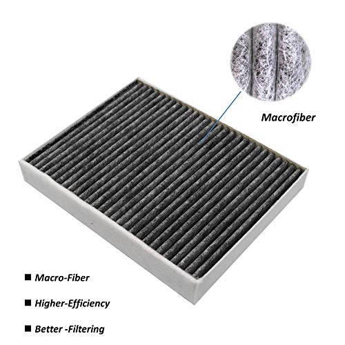 Macrofiber Cabin Air Filter for BMW,Microfilter,Long-Fiber,Rpleacement for 64119237554/64119237555