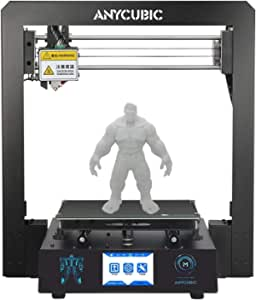 "3D Printer ANYCUBIC Mega FDM Printer with Patented Heated and 3.5"" Touch Screen Works with PLA, ABS, HIPS, WOOD etc."