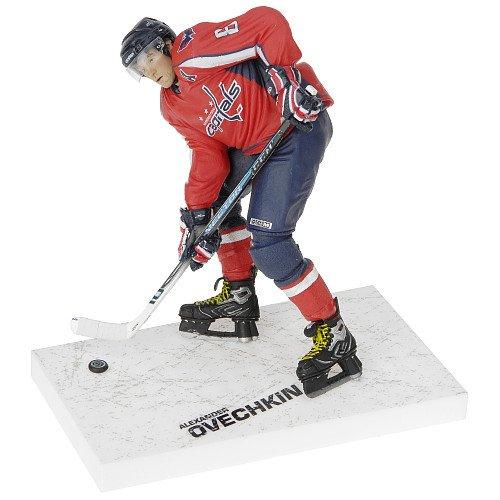 McFarlane NHL Series 17 Alexander Ovechkin in Washington Capitals Red Jersey Figure