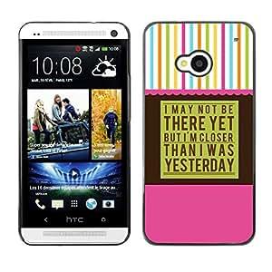 Be Good Phone Accessory // Dura Cáscara cubierta Protectora Caso Carcasa Funda de Protección para HTC One M7 // Aa Anonymous Alcoholics