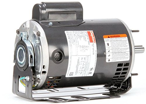 Dayton 3/4 HP Direct Drive Blower Motor, Capacitor-Start, 1725 Nameplate RPM, 115/208-230 Voltage, Frame 56 - 4YU35 by Century Electric Motor (Image #4)