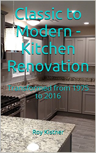 Cheap  Classic to Modern - Kitchen Renovation: Transformed from 1975 to 2016