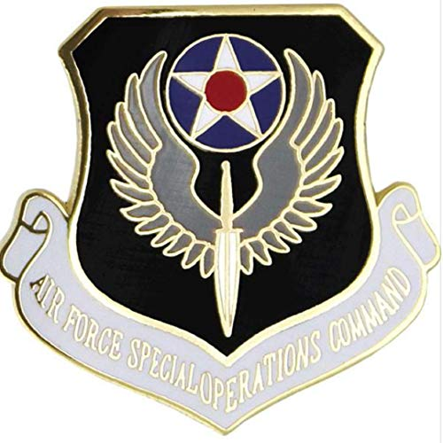 HMC Air Force Special Operations Command (AFSOC) Lapel Pin - 15975 (1 1/8 inch)