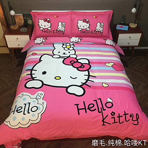 cute Hello Kitty bedding for girls