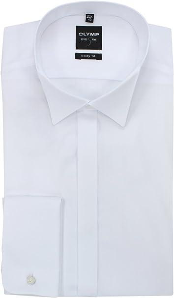 OLYMP Herren Hemd Level 5 Body Fit extralange /Ärmel