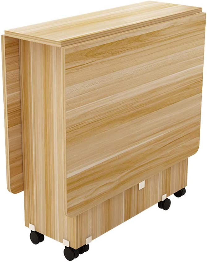 折りたたみテーブル小さなアパート長方形シンプルな多機能格納式モバイル食べるテーブル