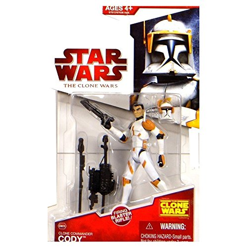 Hasbro Star Wars Clone Wars Clone Commander Cody 33/4 Inch Scale Figure CW28
