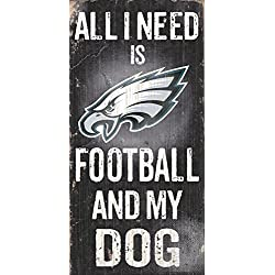 Fan Creations N0640 Philadelphia Eagles Football and My Dog Sign