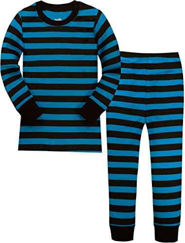 Slenily Boys Striped Pajamas Children Chritmas Cotton Sleepwear Kids Clothes Pjs Set Size 3 Years