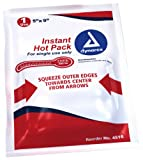 First Voice TS-4516 Disposable Instant Hot Pack, 9' Length x 5' Width (Pack of 18)