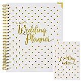 Wedding Planner & Organizer Bundle - Gold Undated