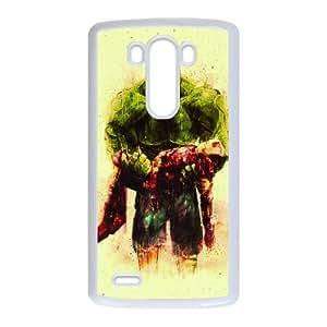 LG G3 Cell Phone Case White Hulk And Iron Man SU4293945