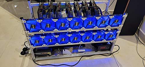 15 GPU Mining Rig 466 Mhs