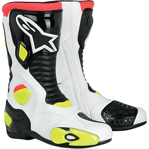 Alpinestars S-MX 5 Boots White/Black/Yellow 47 Euro