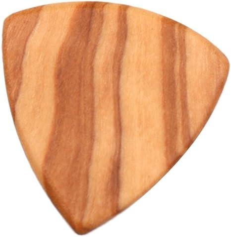 Púas de madera para guitarra de 2 mm de madera de olivo: Amazon.es ...
