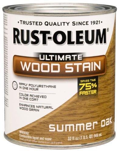 RUST-OLEUM 260145 Quart Summer Oak Interior Stain