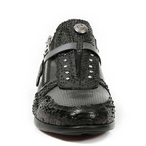 New Rock Hybrid Noir Chaussures M.HY018-S1