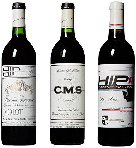 Hedges Family Estate Washington Reds Mixed Wine Pack, 3 x 750 mL