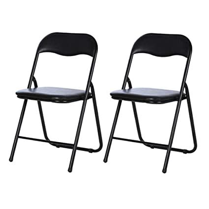Marvelous Folding Chairs Cjc Black Padded Folding Desk Chairs Black Download Free Architecture Designs Itiscsunscenecom