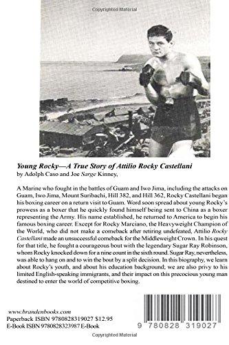 Young Rocky--A True Story of Attilio Rocky Castellani