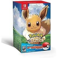 Pokemon Let's Go Eevee + Poke Ball Plus