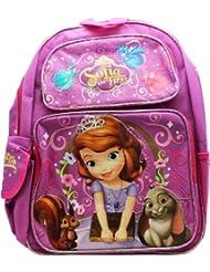 Medium Backpack - Disney - Sofia the First - Animals School Bag New a03279