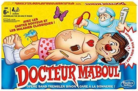 Desconocido Hasbro Gaming - Operación (versión en francés): Amazon.es: Juguetes y juegos