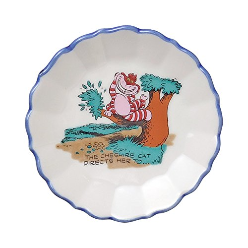 Kutani Ware Walt Disney Alice in Wonderland Cheshire Cat Dish Plate 50606 Alice Dinner Plate