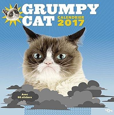 Calendrier Grumpy Cat 2017