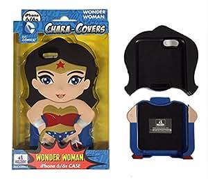 chara-covers Wonder Woman iPhone 6y 6S Cell Teléfono Móvil Rojo
