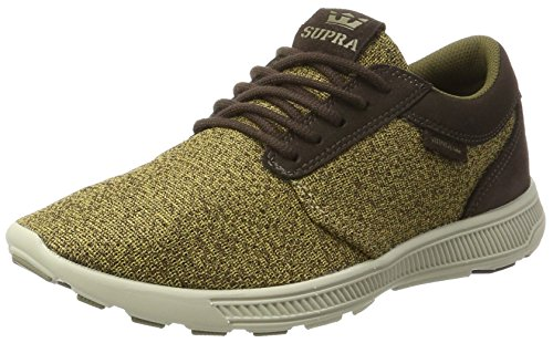 Supra Hammer Demitasse Run bone Baskets Homme Basses Braun zzrqafA