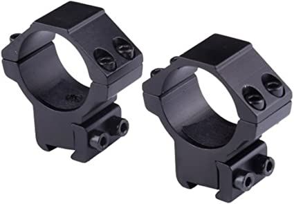 30mm Scope Rings For Rifle Dovetail 11mm Rail And Base W 14mm Saddle Height 2pcs Gun Scope Mounts Amazon Canada