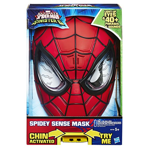Spider-man Ultimate Spider-man Sinister Six Spidey Sense Mask