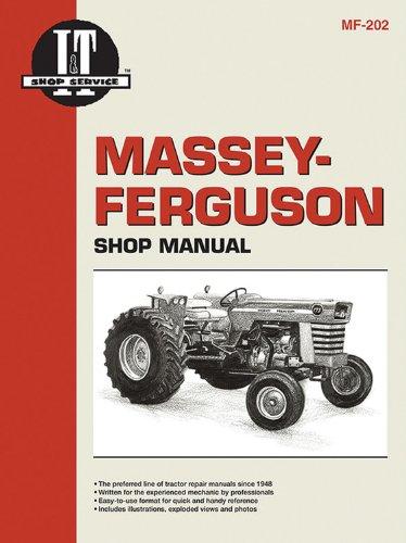 Massey Ferguson Shop Manual Models MF29 MF37 MF38 & MF39
