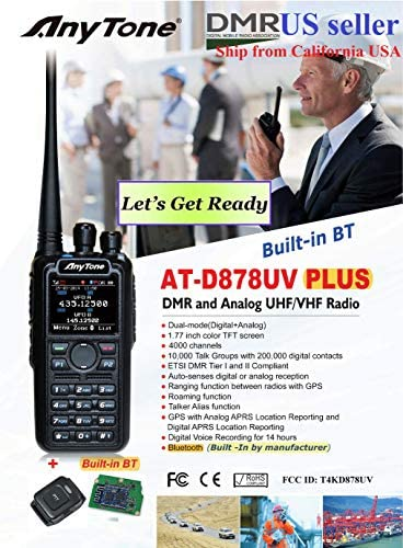 AnyTone AT-D878 Plus GPS