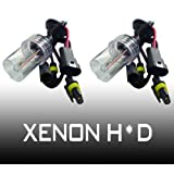 Hipro Power H10, 9140, 9145 12000K HID Xenon Replacement Light Bulbs - 1 Pair